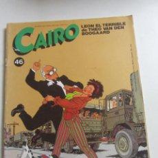 Cómics: CAIRONº 46 , LEON EL TERRIBLE DE THEO VAN DEN BOOGAARD NORMA ARX99. Lote 263186060