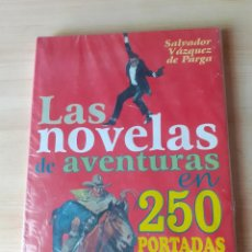 Cómics: LAS NOVELAS DE AVENTURAS EN 250 PORTADAS. GLENAT. TAPA DURA.. Lote 263400420