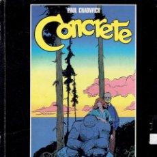 Cómics: CONCRETE PAUL CHADWICK HISTORIAS COMPLETAS 1986-1989 NORMA EDITORIAL 1 EDICION 1996 MARZO. Lote 263615340