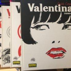 Cómics: VALENTINA TOMOS 1 2 3 4 GUIDO CREPAX NORMA EDITORIAL. Lote 263634100