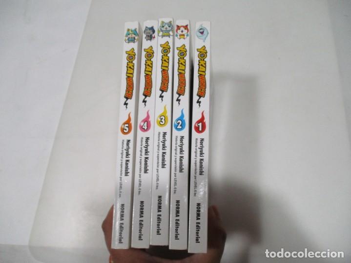 NORIYUKI KONISHI YOKAI WATCH (5 TOMOS DEL 1 AL 5) W7096 (Tebeos y Comics - Norma - Otros)
