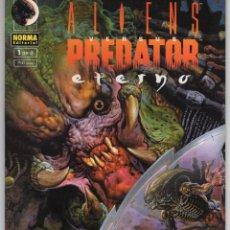 Comics: ALIENS VERSUS PREDATOR ETRNO Nº 1 - NORMA - ESTADO EXCELENTE - SUB01M. Lote 264157368
