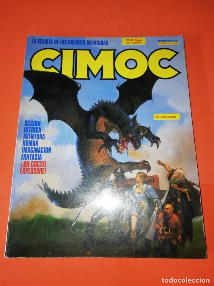 CIMOC. RETAPADO. Nº 56,57 Y 58. BUEN ESTADO GENERAL (Tebeos y Comics - Norma - Cimoc)