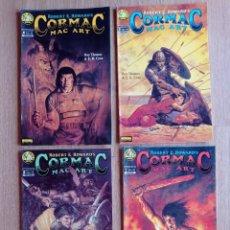 Cómics: CORMAC MAC ART. ROBERT E. HOWARD. COLECCION COMPLETA. 4 NÚMEROS. NORMA. Lote 264561714