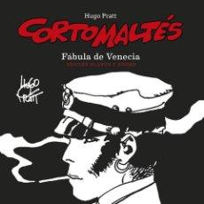Cómics: CORTO MALTÉS : FÁBULA DE VENECIA - NORMA / EDICIÓN EN BLANCO Y NEGRO / CÓMIC EUROPEO / TAPA DURA. Lote 264803629