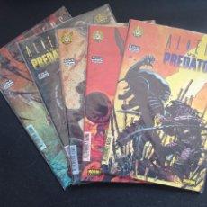 Comics: ALIENS VS PREDATOR COMPLETA 5 NUMEROS. Lote 265118354