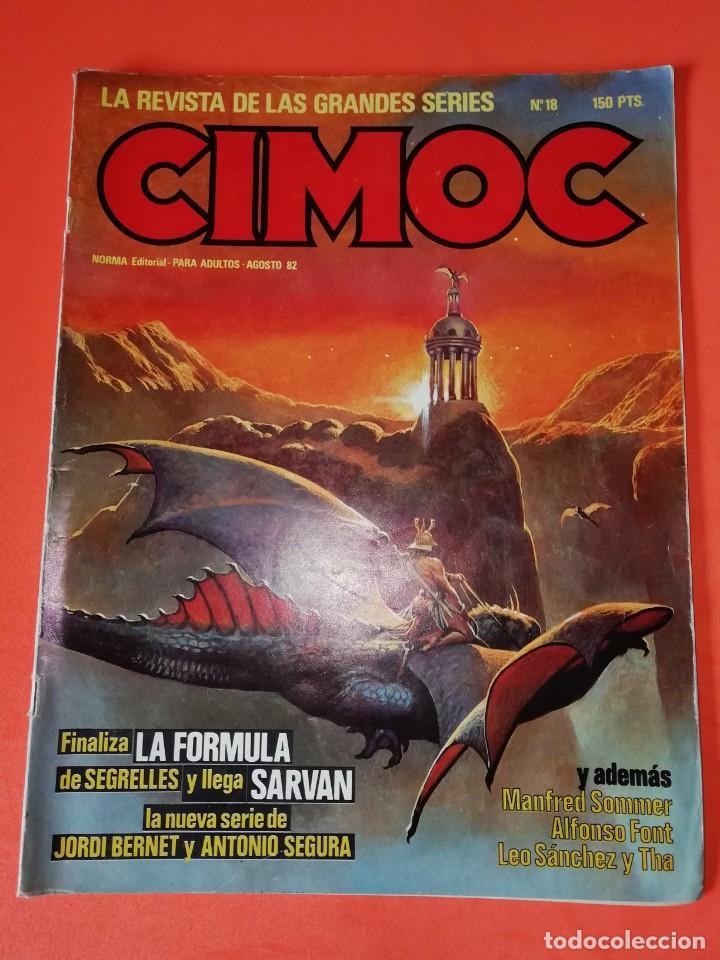 CIMOC Nº 18 NORMA EDITORIAL (Tebeos y Comics - Norma - Cimoc)