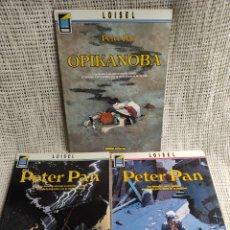 Fumetti: PETER PAN - LOTE Nº 1 AL 3 / AUTOR : LOISEL , LONDRES , OPIKANOBA, TEMPESTAD. Lote 266227043
