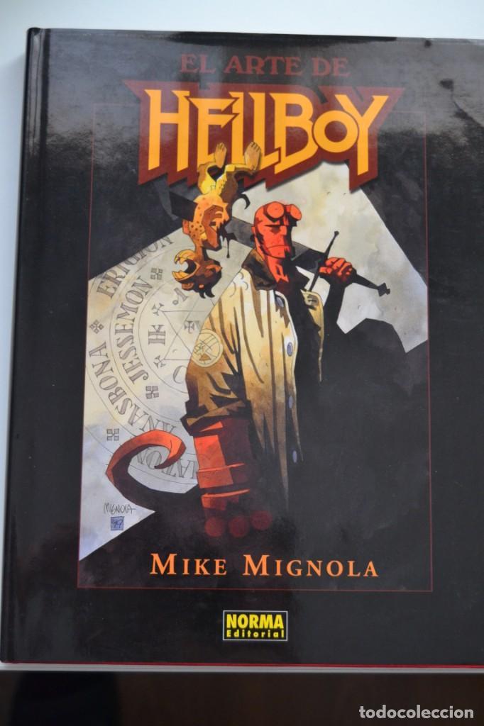 EL ARTE DE HELLBOY - NORMA (Tebeos y Comics - Norma - Comic USA)