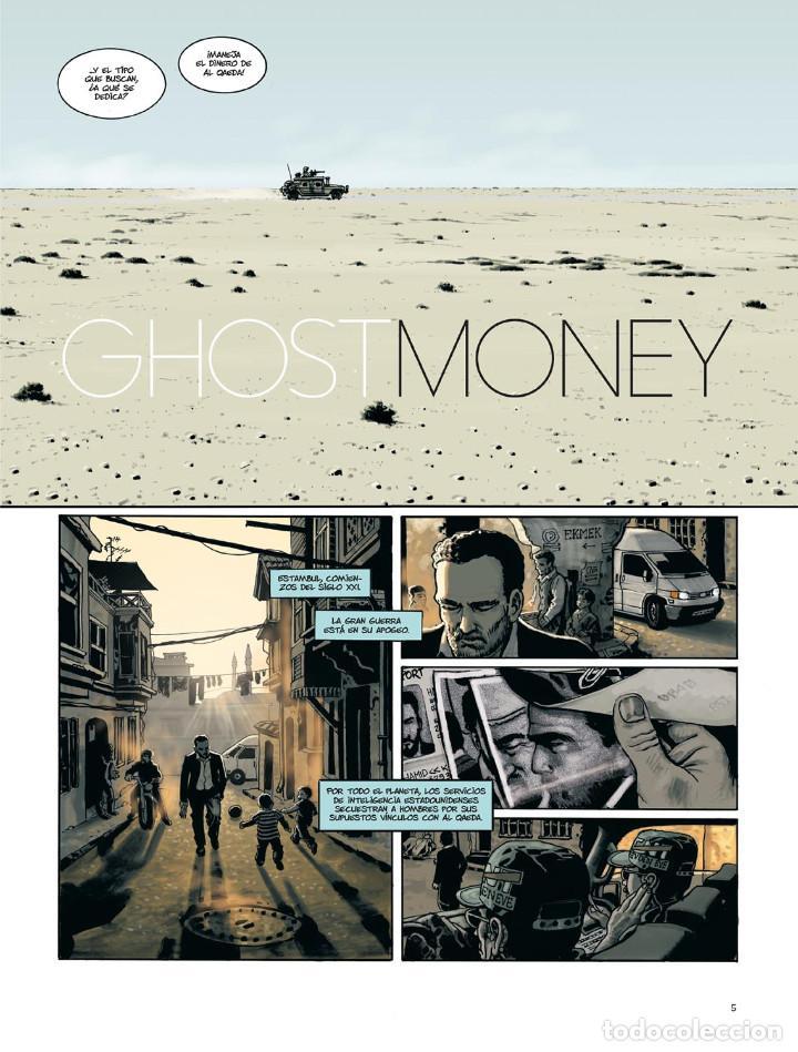 Cómics: Cómics. GHOST MONEY - Smolderen / Bertail (Cartoné) - Foto 4 - 266390003