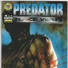 Comics: NORMA. PREDATOR RACE WAR. 4. Lote 266702193