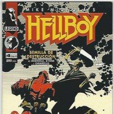 Comics : NORMA. HELLBOY. SEMILLA DE DESTRUCCIÓN. 4.. Lote 266702228