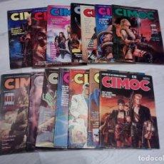 Cómics: LOTE COMIC CIMOC - NUMEROS DEL 1 AL 153 MÁS 5 ESPECIAL MÁS 3 PRIMERA ÉPOCA. Lote 266706888