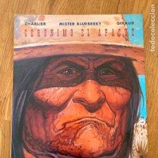 Comics: MISTER BLUEBERRY 38 - GERONIMO EL APACHE - NORMA - BUEN ESTADO. Lote 266870424