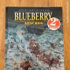 Comics: BLUEBERRY 49 - APACHES - NORMA - BUEN ESTADO. Lote 266878719
