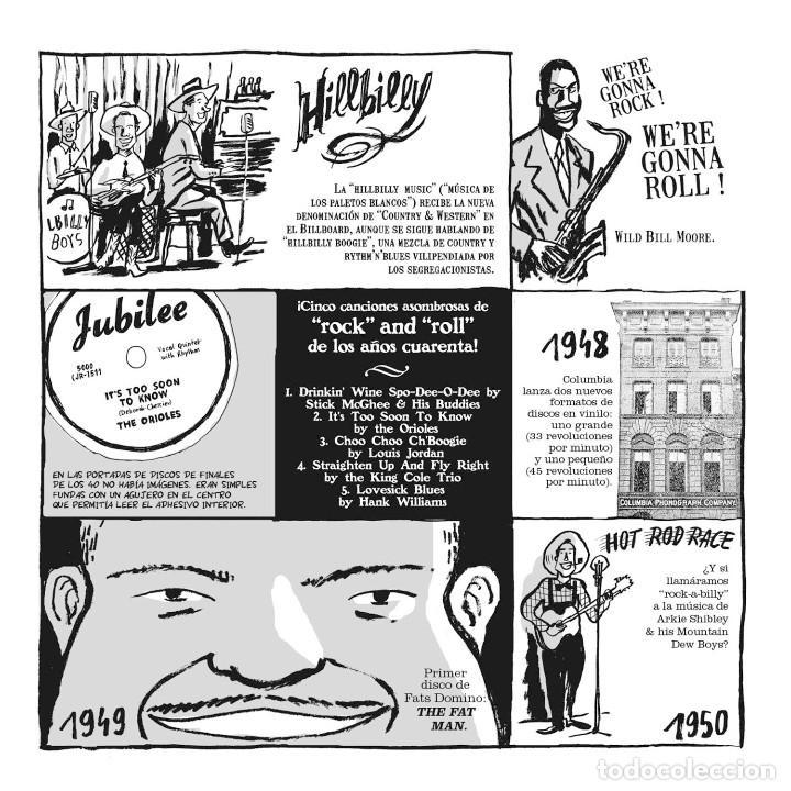 Cómics: Cómics. EL PEQUEÑO LIBRO DEL ROCK. EDICIÓN AMPLIADA - Hervé Bourhis (Cartoné) - Foto 3 - 266885259