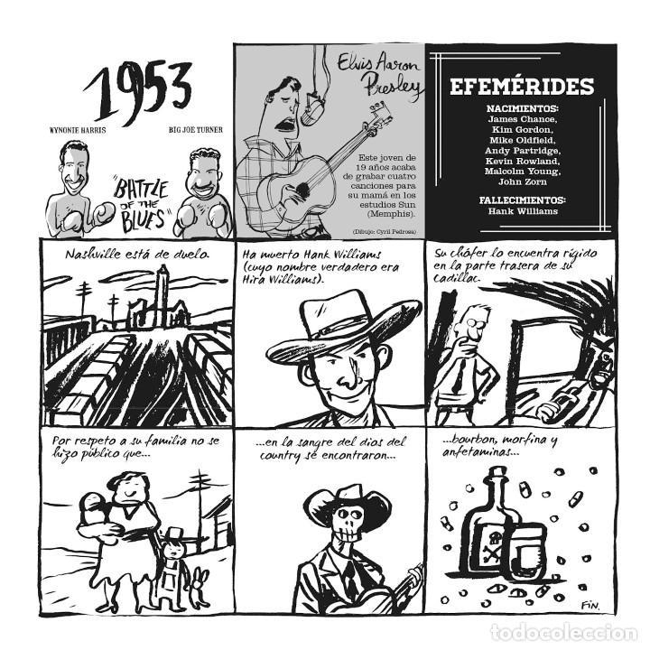 Cómics: Cómics. EL PEQUEÑO LIBRO DEL ROCK. EDICIÓN AMPLIADA - Hervé Bourhis (Cartoné) - Foto 6 - 266885259