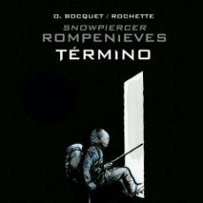Cómics: CÓMICS. ROMPENIEVES. TÉRMINO - JOSE LOUIS BOCQUET / JEAN-MARC ROCHETTE (CARTONÉ). Lote 266886249