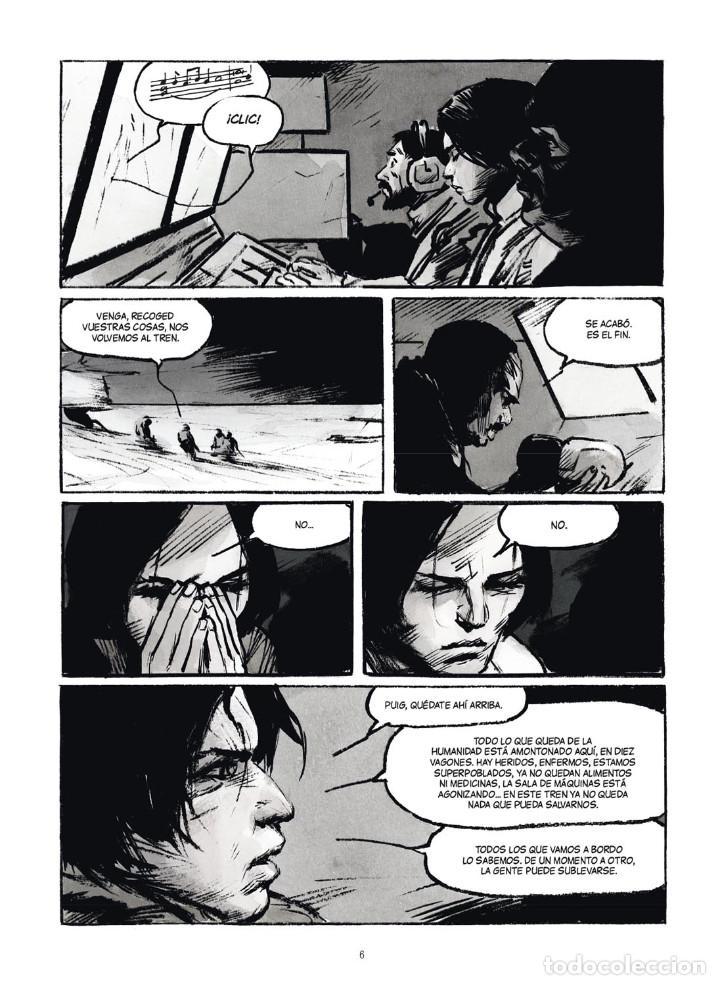 Cómics: Cómics. ROMPENIEVES. TÉRMINO - Jose Louis Bocquet / Jean-Marc Rochette (Cartoné) - Foto 3 - 266886249