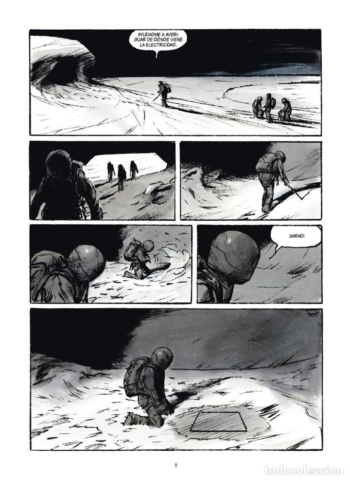 Cómics: Cómics. ROMPENIEVES. TÉRMINO - Jose Louis Bocquet / Jean-Marc Rochette (Cartoné) - Foto 5 - 266886249