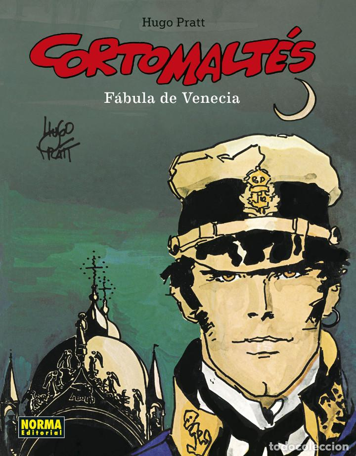 CÓMICS. CORTO MALTÉS 07. FÁBULA DE VENECIA - HUGO PRATT (CARTONÉ) (Tebeos y Comics - Norma - Comic Europeo)