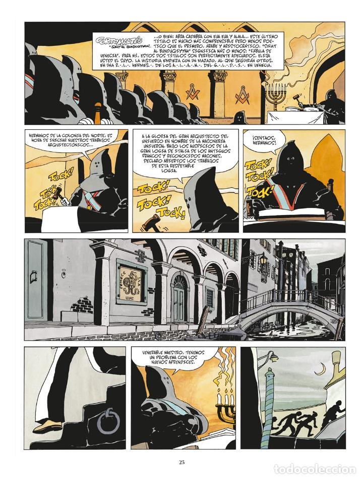 Cómics: Cómics. CORTO MALTÉS 07. FÁBULA DE VENECIA - Hugo Pratt (Cartoné) - Foto 2 - 266887409