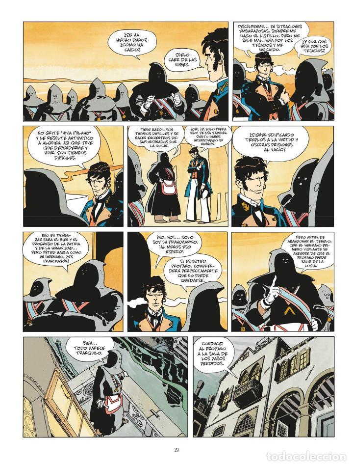 Cómics: Cómics. CORTO MALTÉS 07. FÁBULA DE VENECIA - Hugo Pratt (Cartoné) - Foto 4 - 266887409