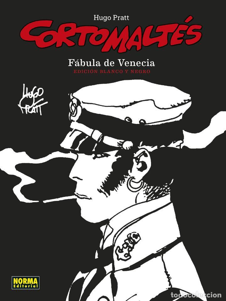 CÓMICS. CORTO MALTÉS 07. FÁBULA DE VENECIA. EDICIÓN B/N - HUGO PRATT (CARTONÉ) (Tebeos y Comics - Norma - Comic Europeo)