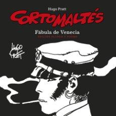 Cómics: CÓMICS. CORTO MALTÉS 07. FÁBULA DE VENECIA. EDICIÓN B/N - HUGO PRATT (CARTONÉ). Lote 266887894