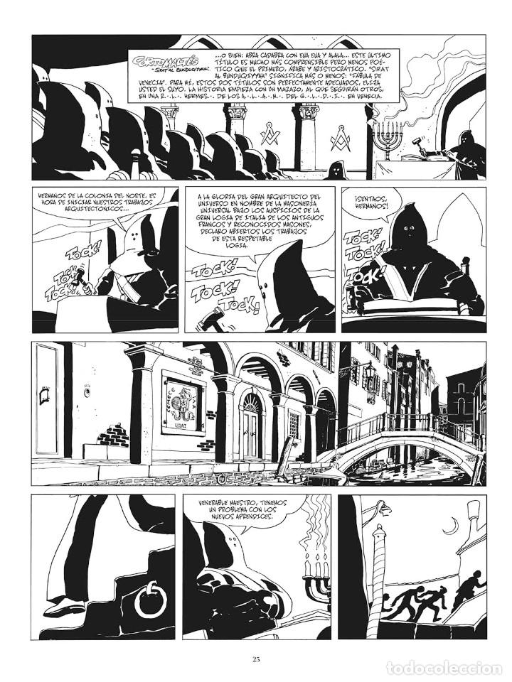Cómics: Cómics. CORTO MALTÉS 07. FÁBULA DE VENECIA. Edición B/N - Hugo Pratt (Cartoné) - Foto 2 - 266887894