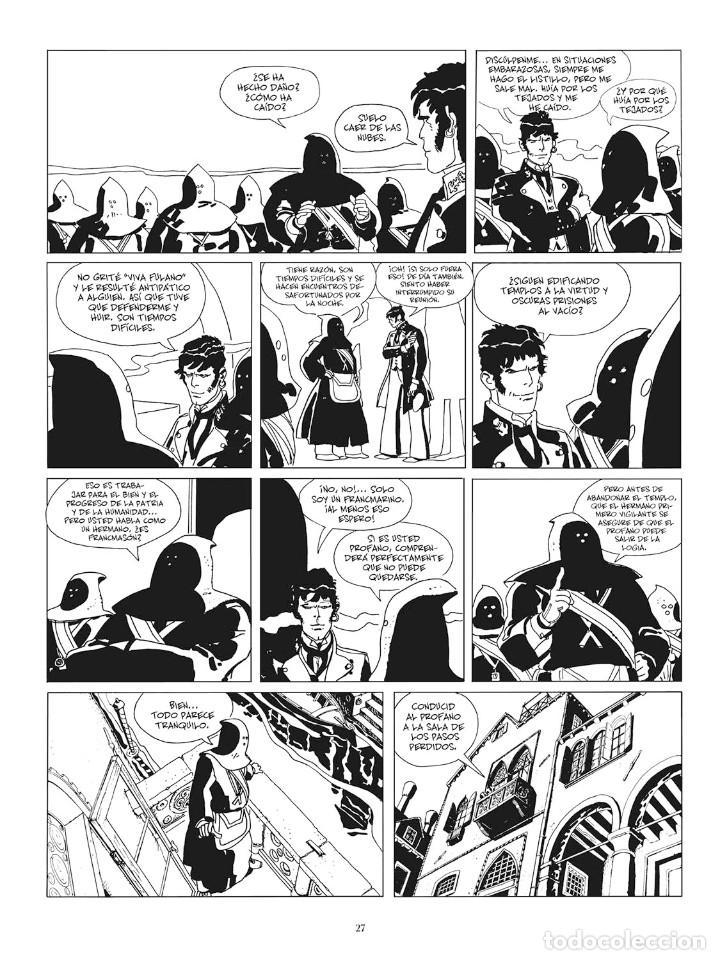 Cómics: Cómics. CORTO MALTÉS 07. FÁBULA DE VENECIA. Edición B/N - Hugo Pratt (Cartoné) - Foto 4 - 266887894