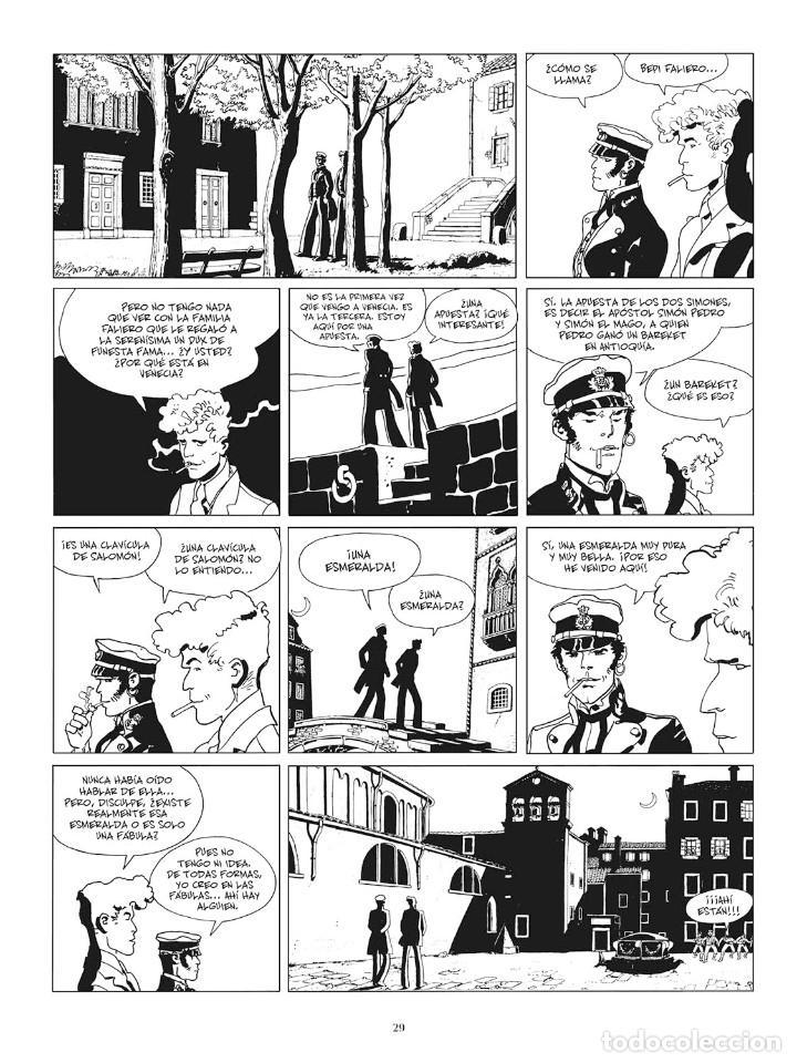 Cómics: Cómics. CORTO MALTÉS 07. FÁBULA DE VENECIA. Edición B/N - Hugo Pratt (Cartoné) - Foto 6 - 266887894