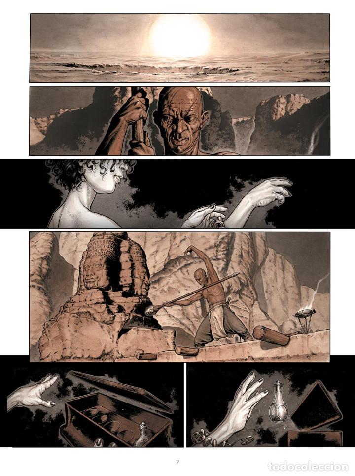Cómics: Cómics. SERVITUD 5. SHALIN - Fabrice David / Eric Bourgier (Cartoné) - Foto 2 - 266888509