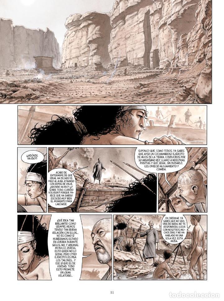 Cómics: Cómics. SERVITUD 5. SHALIN - Fabrice David / Eric Bourgier (Cartoné) - Foto 6 - 266888509