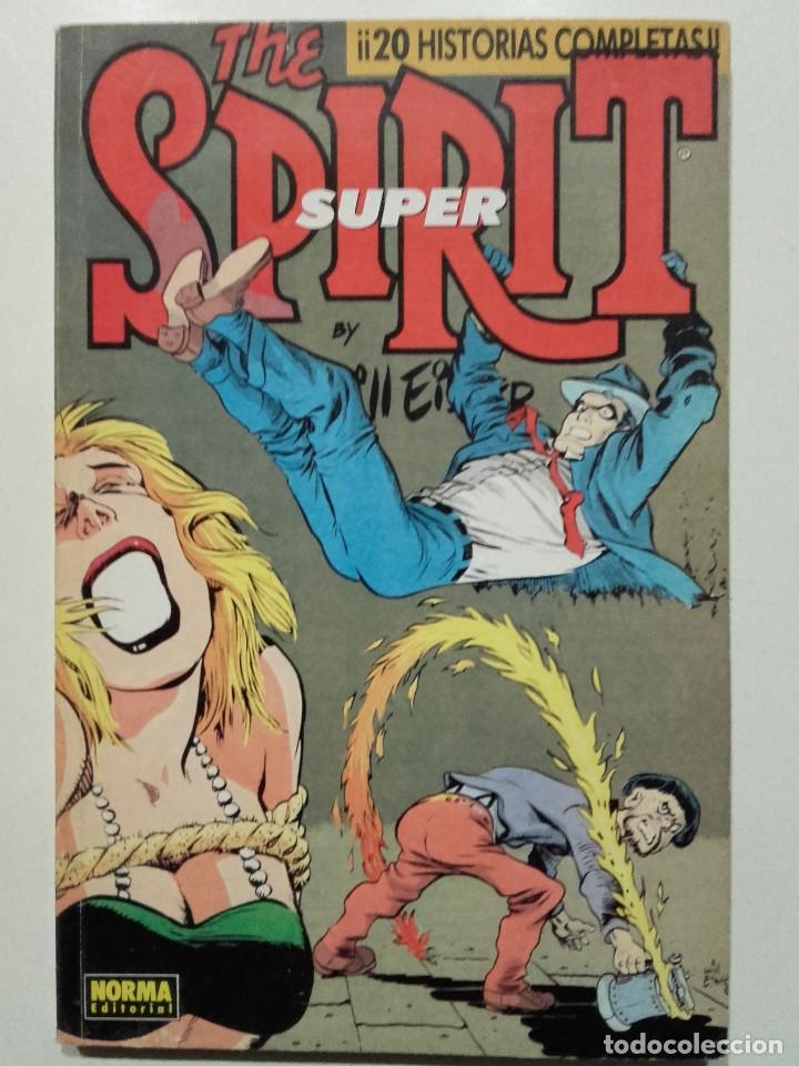 THE SUPER SPIRIT - RETAPADO Nº 4 - NUMEROS DEL 18 AL 22 - EDITORIAL NORMA (Tebeos y Comics - Norma - Otros)