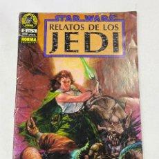 Cómics: STAR WARS. RELATOS DE LOS JEDI. Nº 5 (DE 5).- LA SAGA DE NOMI SUNRIDER. NORMAL EDITORIAL. Lote 267550304