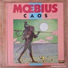 Cómics: MOEBIUS - CAOS - NORMA EDITORIAL - TAPA DURA. Lote 267611149