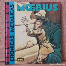 Cómics: MOEBIUS - CRÓNICAS METÁLICAS - NORMA EDITORIAL - TAPA DURA. Lote 267611339
