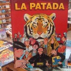 Cómics: LA PATADA (TARDI / PENNAC) NORMA EDITORIAL COMO NUEVO. Lote 267626314
