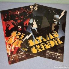 Cómics: 2 EJEMPLARES OBRA COMPLETA BATMAN GRENDEL DC NORMA EDITORIAL. Lote 267711199