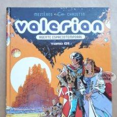 Cómics: VALERIAN - AGENTE ESPACIOTEMPORAL - TOMO 1 - MEZIÈRES Y CHRISTIN - NORMA INTEGRAL. Lote 267800424