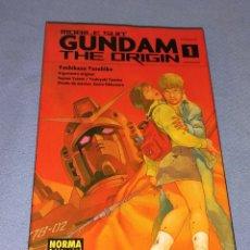Cómics: TOMO Nº 1 GUNDAM THE ORIGIN YOSHIKAZU YASUHIKO NORMA EDITORIAL. Lote 267891709