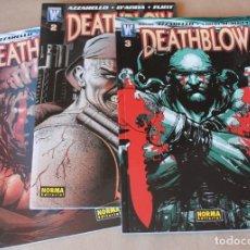 Fumetti: DEATHBLOW 1 2 3 COMPLETA - NORMA ED. / WILDSTORM - BRIAN AZZARELLO. Lote 267905414