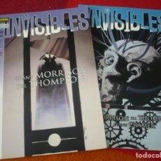 Cómics: LOS INVISIBLES ARCADIA 1 Y 2 COMPLETA ( GRANT MORRISON ) ¡MUY BUEN ESTADO! NORMA VERTIGO. Lote 268264789