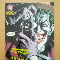 Fumetti: BATMAN: LA BROMA ASESINA, POR ALAN MOORE Y BRIAN BOLLAND (NORMA, 2002).. Lote 268402384