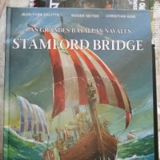 Cómics: LAS GRANDES BATALLAS NAVALES STAMFORD BRIDGE CJ6. Lote 268405589
