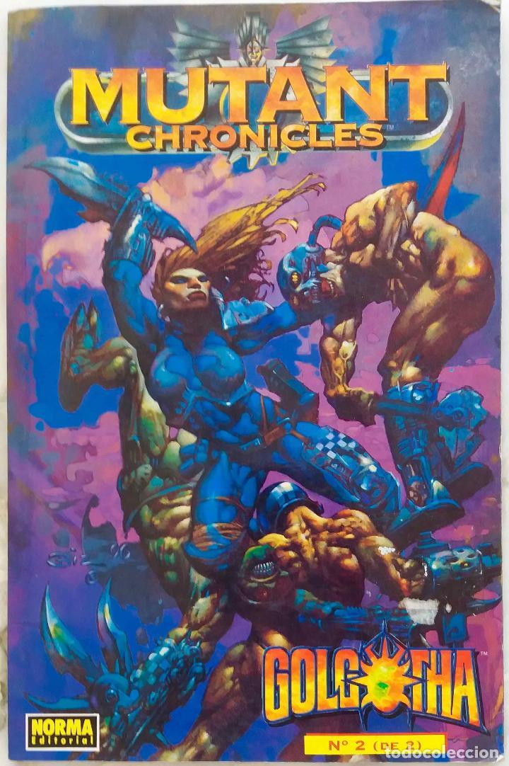MUTANT CHRONICLES. GOLGOTHA. Nº 2 DE 2. NORMA EDITORIAL (Tebeos y Comics - Norma - Otros)