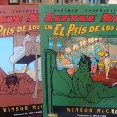 Comics : LITTLE NEMO EN EL PAIS DE LOS SUEÑOS - OBRA COMPLETA (2 TOMOS) - WINSOR MCCAY - NORMA - TAPA DURA. Lote 268806979