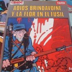 Comics : ADIOS BRINDAVOINE Y LA FLOR EN EL FUSIL - COMIC DE TARDI - NORMA 1983 - EXTRA COLOR CIMOC Nº 9. Lote 268811409