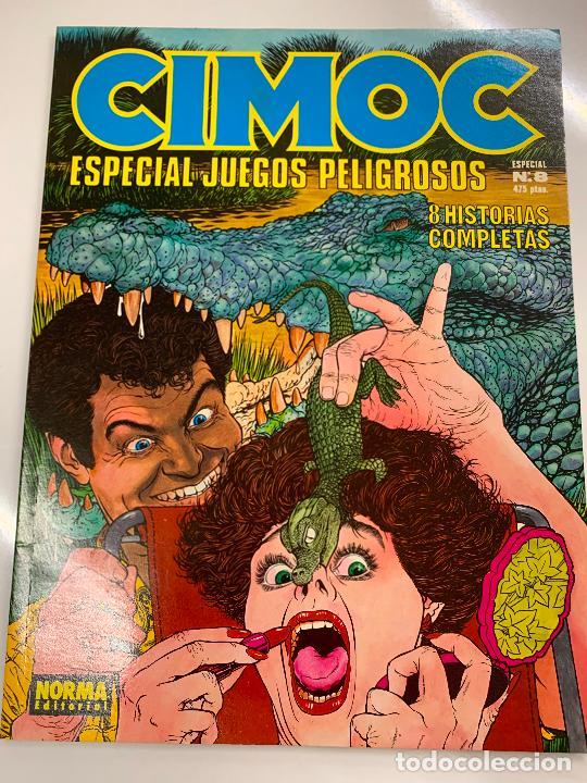 CIMOC ESPECIAL JUEGOS PELIGROSOS, NUM 8, EDITORIAL NORMA (Tebeos y Comics - Norma - Cimoc)